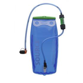 SOURCE Widepac Poche d'eau 3l, transparent/blue